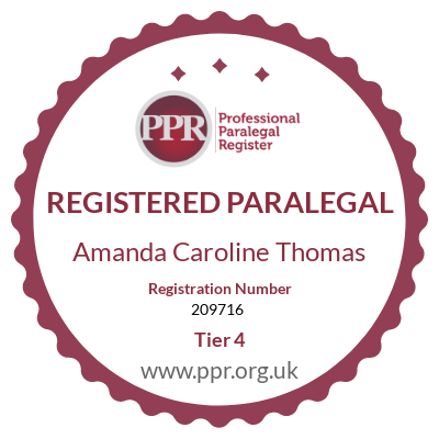 Paralegal certification